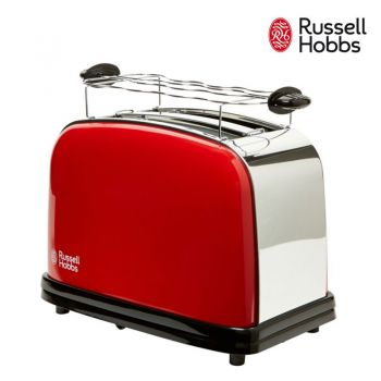 Russell Hobbs เครื่องปิ้งขนมปัง FlameRed 2 slice toaster รุ่น 23330-56